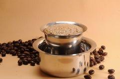 印地安咖啡 免版税库存图片