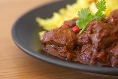 印地安咖喱 库存图片