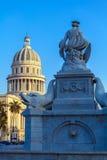 印地安喷泉-哈瓦那,古巴的标志 免版税库存照片