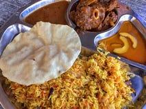印地安回教食物 库存图片