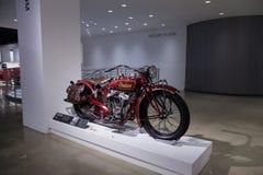 1927印地安大首要摩托车 免版税库存照片