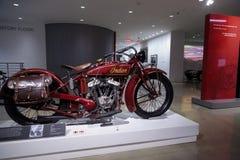 1927印地安大首要摩托车 库存图片