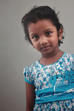 印地安女孩孩子 免版税库存照片