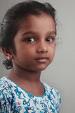 印地安女孩孩子 免版税库存图片