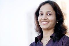 印地安女实业家 免版税库存照片