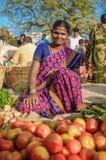 印地安女性 图库摄影