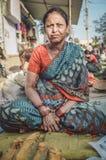 印地安女性 免版税库存照片