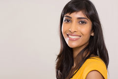 印地安妇女秀丽 免版税图库摄影