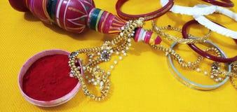 印地安婚礼仪式 库存图片