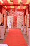 印地安婚姻霍尔 库存照片