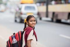 印地安学生 库存照片