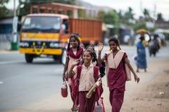 印地安学生 免版税库存照片
