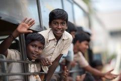 印地安学生 免版税库存图片