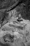 印地安宗教纪念碑 库存图片