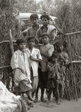 印地安家庭 免版税图库摄影