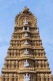 印地安寺庙在迈索尔王宫 迈索尔,印度,卡纳塔克邦 免版税库存图片