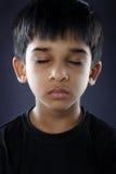 印地安小男孩 免版税库存照片