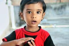 印地安小男孩 库存图片