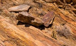印地安峡谷岩层 库存照片