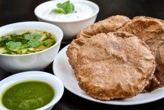 印地安快餐 免版税库存照片