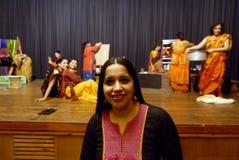 印地安戏曲 库存照片