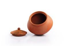 印地安手工制造罐 免版税库存图片