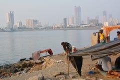 印地安无家可归者 库存照片