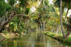 印地安河运河 免版税库存照片