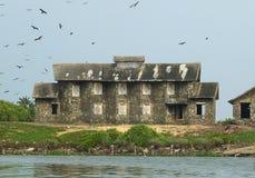 印地安海滨别墅 免版税库存图片
