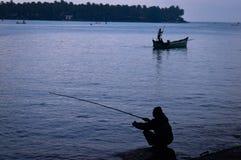 印地安渔 免版税图库摄影