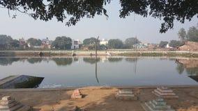 印地安湖 免版税库存图片