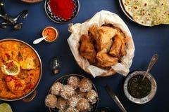 印地安烹调diwali假日 免版税库存照片
