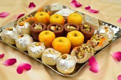 印地安甜点- Mithai 库存图片