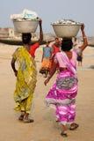 印地安生活 库存照片