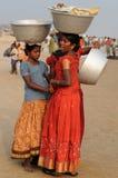 印地安生活 免版税图库摄影
