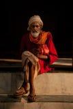 印地安男性在阿格拉 免版税库存照片