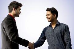 印地安男性式样公司雇员神色 免版税库存图片