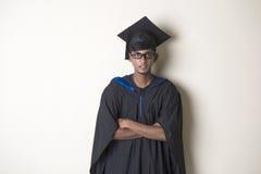印地安男性毕业生 免版税库存图片