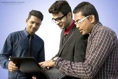 印地安的雇员 库存图片