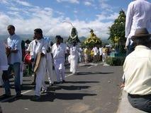 印地安社区 库存照片