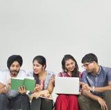 印地安种族中东亚洲公共概念 免版税库存图片
