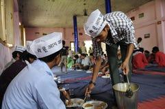印地安竞选 库存照片
