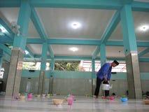 印地安粥Pekojan清真寺 免版税图库摄影