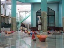 印地安粥Pekojan清真寺 库存照片