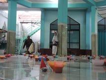 印地安粥Pekojan清真寺 免版税库存图片