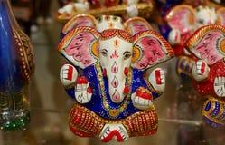 印地安纪念品大象 免版税库存照片