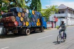 印地安自行车 免版税库存照片