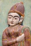 印地安艺术在斋浦尔市宫殿 免版税库存照片