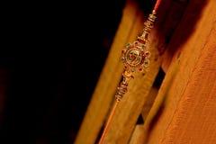 印地安节日Raksha Bandhan, Raakhi 免版税库存图片