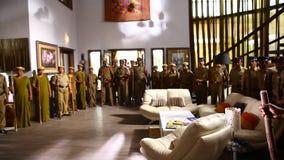 印地安警察局内部  股票录像